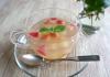 ゼリーレシピ 第二弾りんご酢ゼリー